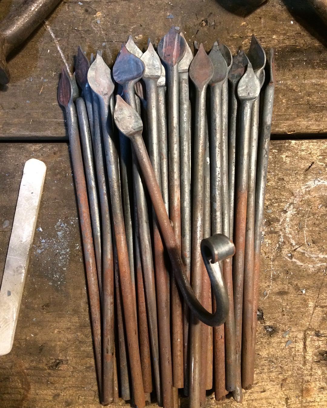 A ctrl+C and ctrl+V kind of day. #blacksmith #handmade #forged #hook