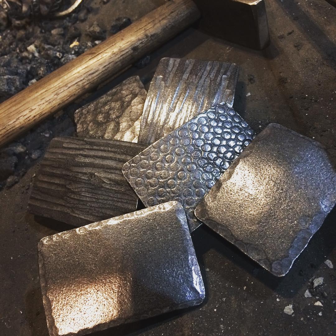 Belt buckles by @ruderock. #texture #blacksmith #forged #madeincanada #winnipeg
