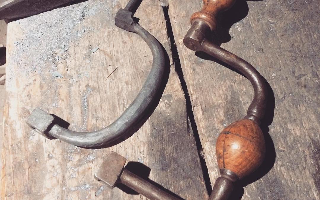 Brace progress. #blacksmith #forged #tools #wip